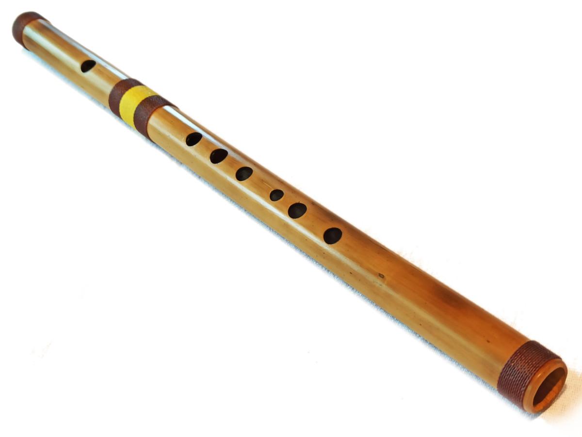 Flauta transversal - Fife en bambú natural 2