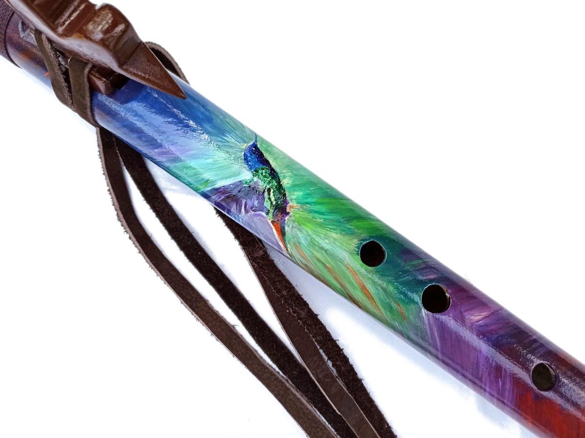 Flauta Nativa Colibri - Ashar - Estilo NAF