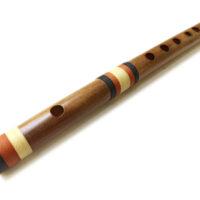 Querflöte - natürliches Bambus-Pfeifen-Studentenbild