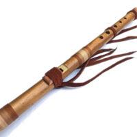 River Cane Eine Flöte - NAF-Bild im Stil der amerikanischen Ureinwohner