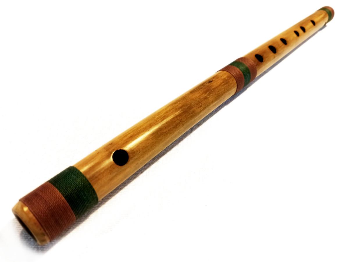 Bansuri Bambu Natural G (S) | D (P) 1