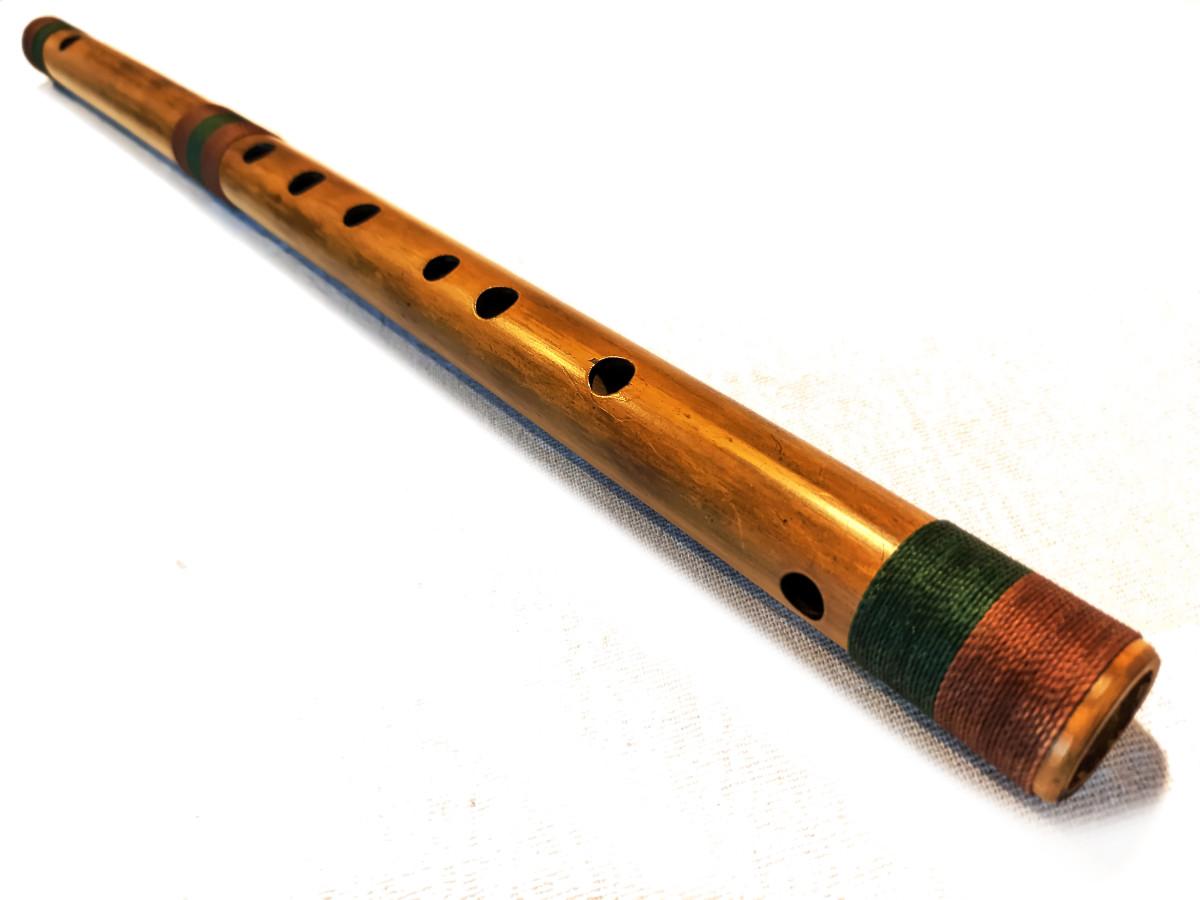 Bansuri Bambu Natural G (S) | D (P) 2