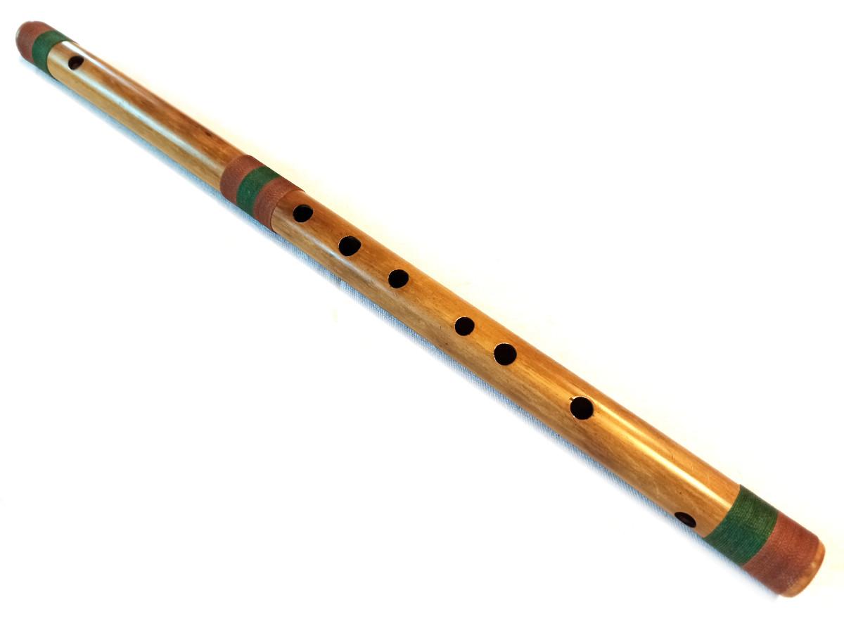 Bansuri Bambu Natural G (S) | D (P) 3